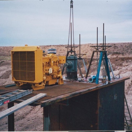 Ongoing Pump Site